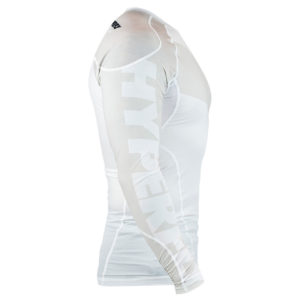hyperfly rashguard procomp supreme long sleeve white 2