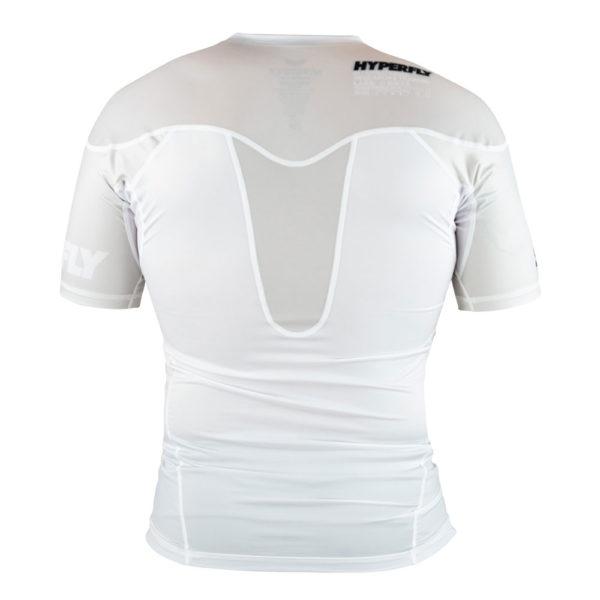 hyperfly rashguard procomp supreme short sleeve white 4