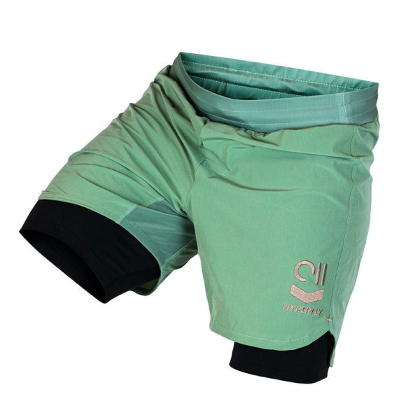hyperfly shorts icon sagegold 4