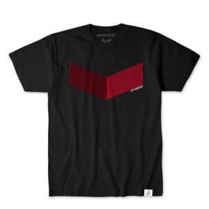 hyperfly t shirts icon black red 1