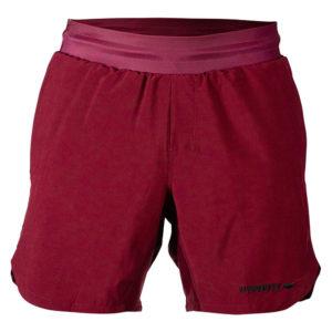 hyperfly training shorts icon burgundy 11