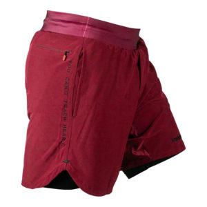 hyperfly training shorts icon burgundy 6