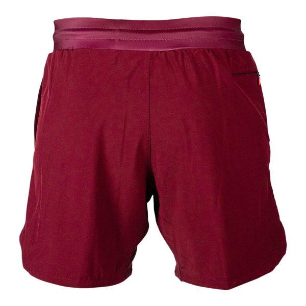 hyperfly training shorts icon burgundy 8