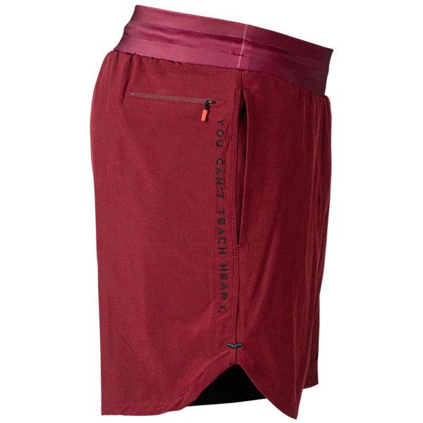 hyperfly training shorts icon burgundy 9
