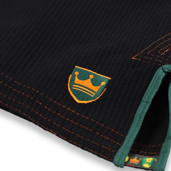 inverted gear bjj gi gold weave black 3