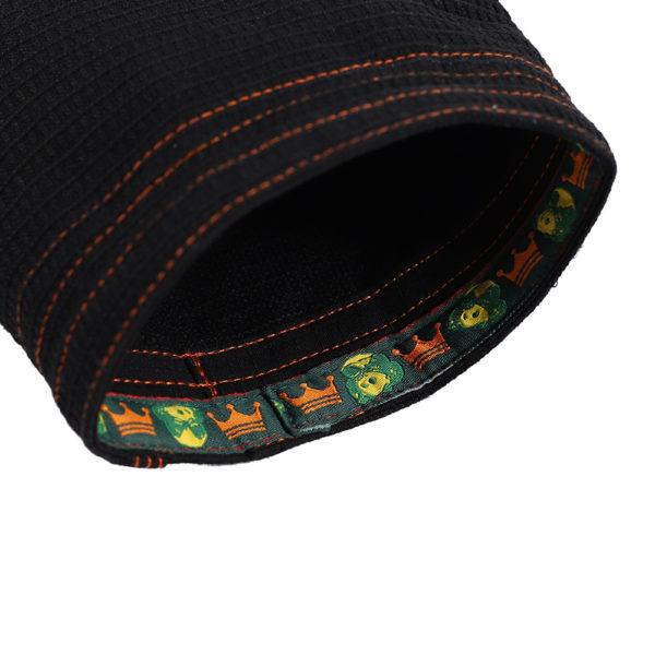 inverted gear bjj gi gold weave black 5