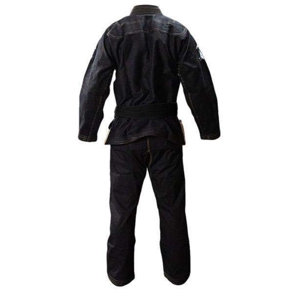inverted gear bjj gi panda classic black 2