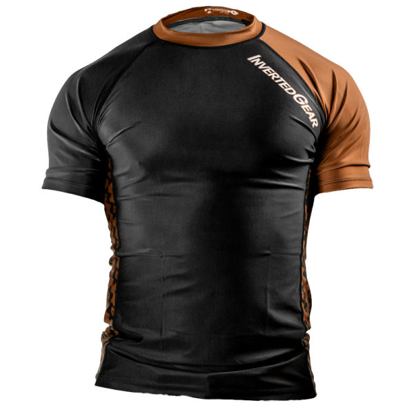 inverted gear rashguard ibjjf ranked brown 1