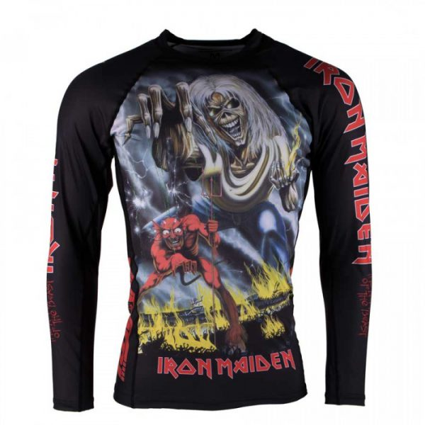 Tatami x Iron Maiden Kids Rashguard Number of the Beast