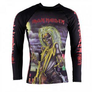 Tatami x Iron Maiden Rashguard Killers