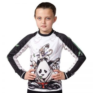 Tatami Rashguard Kids Gentle Panda
