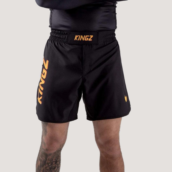 kingz shorts kgz orange 1