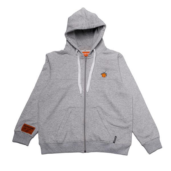 kramsno hoodie granit 1