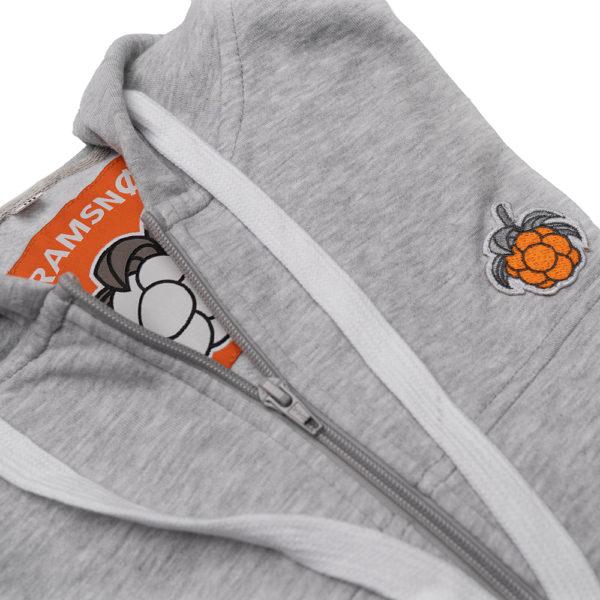 kramsno hoodie granit 2