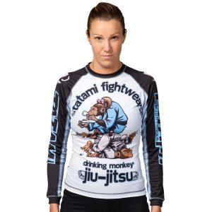 Tatami Rashguard Ladies Drinker Monkey