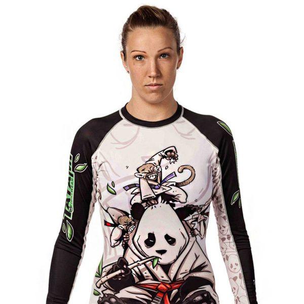 Tatami Rashguard Ladies Gentle Panda