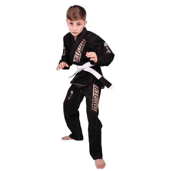 Tatami BJJ Gi Kids Animal V2 black incl. white belt