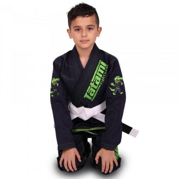 Tatami BJJ Gi Kids Animal V2 navy incl. white belt