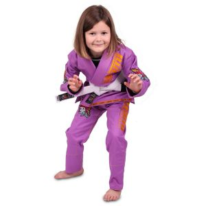 Tatami BJJ Gi Kids Animal V2 purple incl. white belt