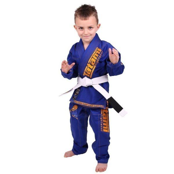 Tatami BJJ Gi Kids Animal V2 blue incl. white belt