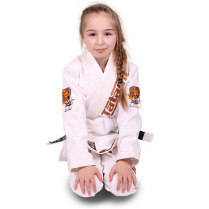 Tatami BJJ Gi Kids Animal V2 white incl. white belt