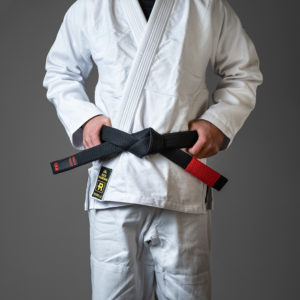 rebelz bjj belt premium black 1