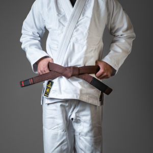 rebelz bjj belt premium brown 1