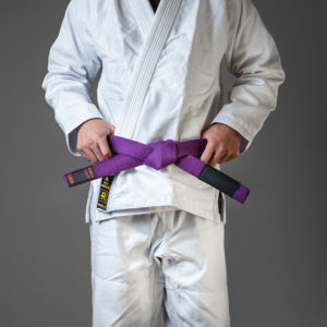 rebelz bjj belt premium purple 1