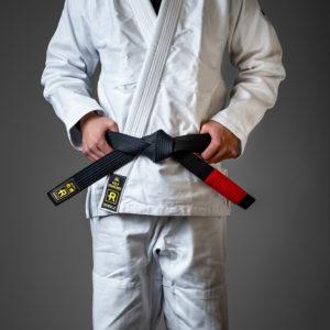 rebelz bjj belt standard black 1