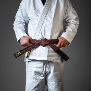 rebelz bjj belt standard brown 1