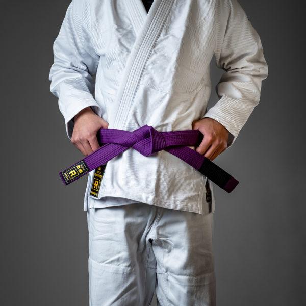 rebelz bjj belt standard purple 1