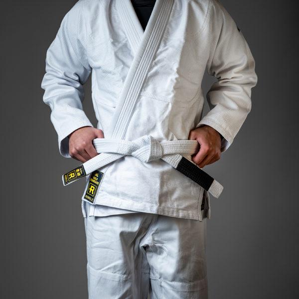 rebelz bjj belt standard white 1