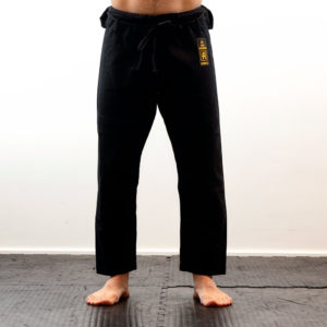 Rebelz BJJ Pants Gold Standard black
