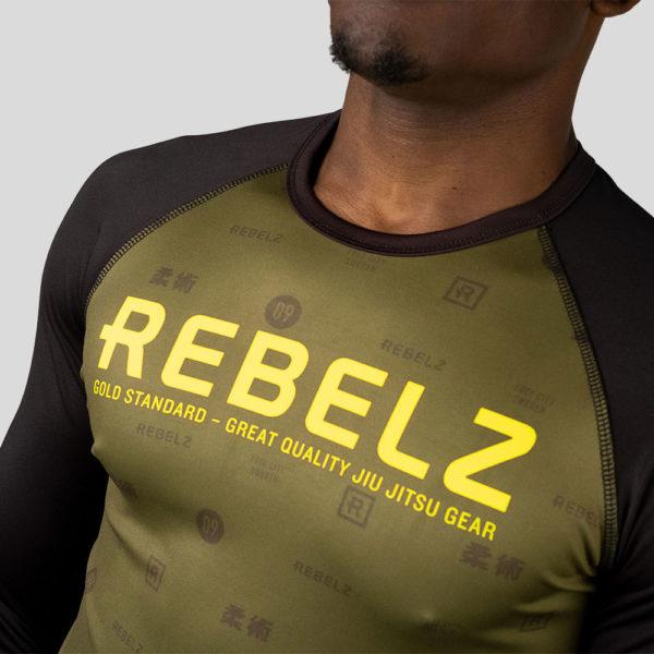 rebelz rashguard gold standard long sleeve 2