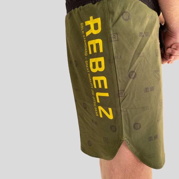 rebelz shorts gold standard 2