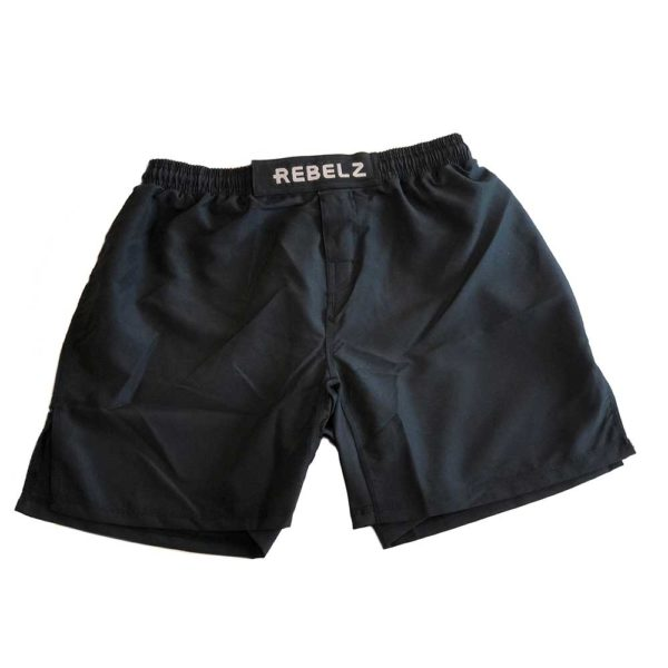 rebelz shorts logo 1