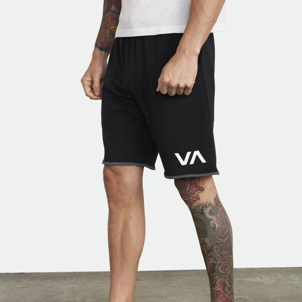 rvca shorts iii black 2