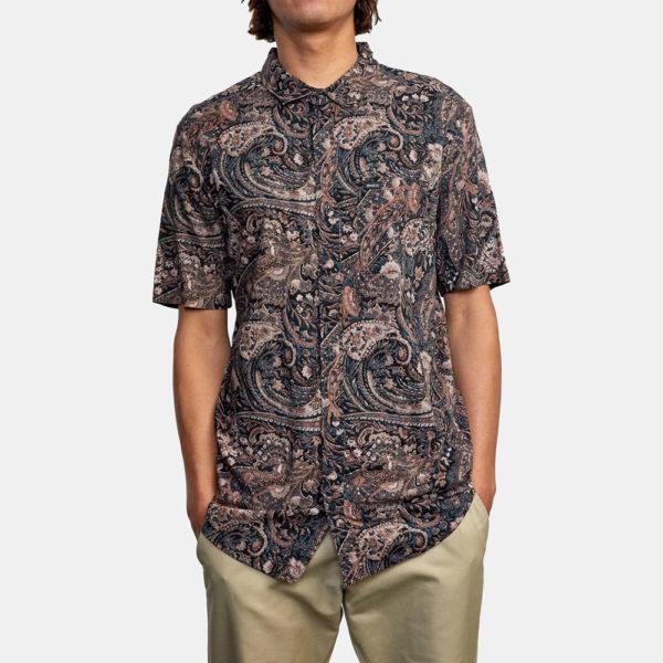 rvca skjorta tangier paisley 1