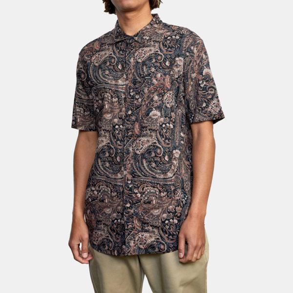 rvca skjorta tangier paisley 3