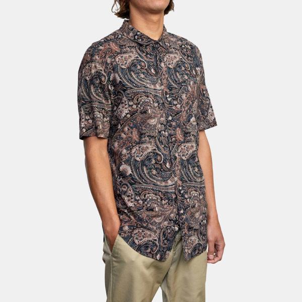 rvca skjorta tangier paisley 4