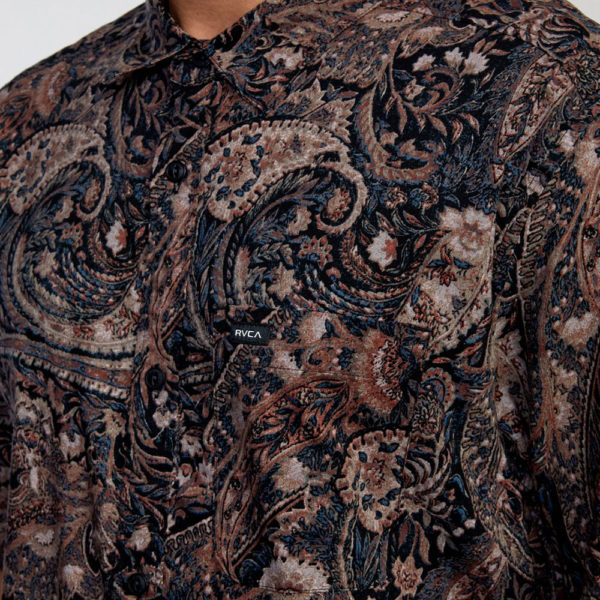rvca skjorta tangier paisley 5