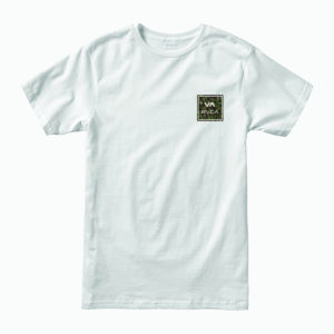 rvca t shirt all the way white 1