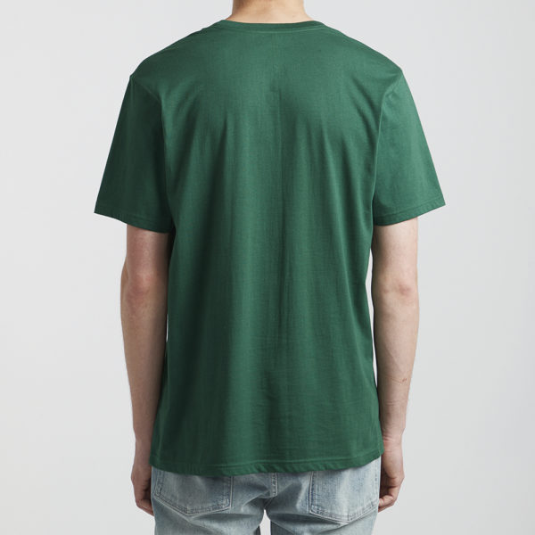 rvca t shirt big logo green 2