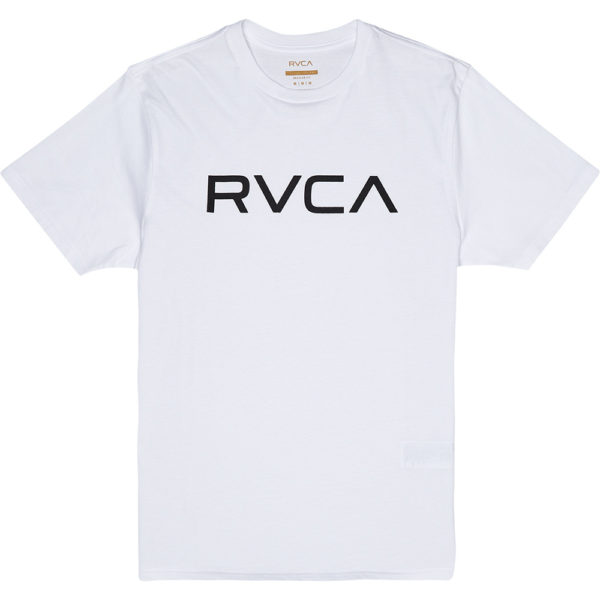 RVCA T-shirt Big Logo white