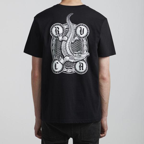 rvca t shirt croco 1