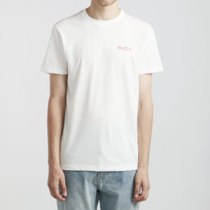 rvca t shirt money white 1