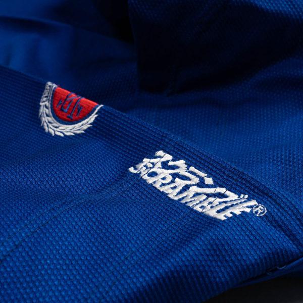 scramble bjj gi athlete blue 8