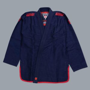 scramble bjj gi athlete pro navy 1