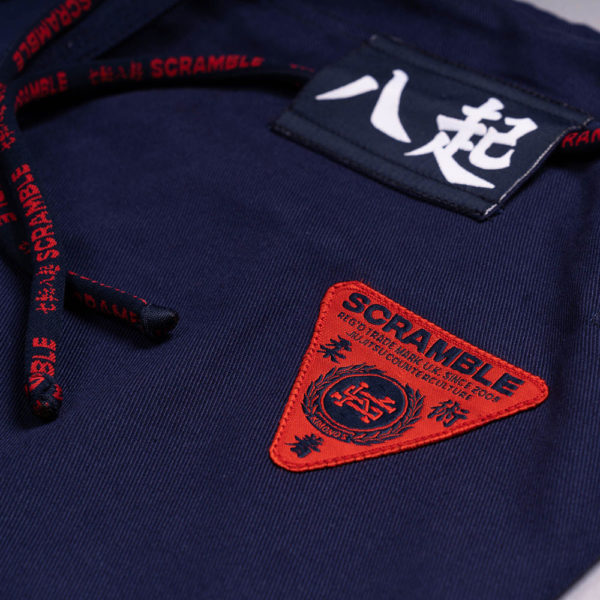 scramble bjj gi athlete pro navy 11