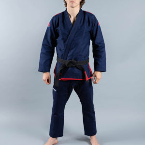 scramble bjj gi athlete pro navy 2